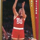 1992 Fleer Basketball Card #345 Matt Bullard