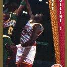 1992 Fleer Basketball Card #348 Tree Rollins