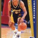1992 Fleer Basketball Card #352 Pooh Richardson