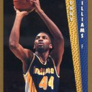 1992 Fleer Basketball Card #354 Kenny Williams