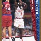 1992 Fleer Basketball Card #355 Jaren Jackson