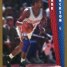 1992 Fleer Basketball Card #356 Mark Jackson