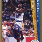 1992 Fleer Basketball Card #343 Latrell Sprewell
