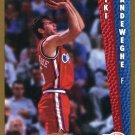1992 Fleer Basketball Card #359 Kiki Wandeweghe