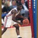 1992 Fleer Basketball Card #361 Randy Woods