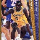 1992 Fleer Basketball Card #362 Duane Cooper