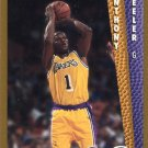 1992 Fleer Basketball Card #364 Anthony Peeler