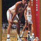 1992 Fleer Basketball Card #367 Matt Geiger
