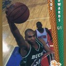 1992 Fleer Basketball Card #373 Blue Edwards
