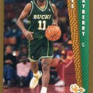 1992 Fleer Basketball Card #375 Lee Mayberry