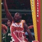 1992 Fleer Basketball Card #301 Mookie Blaylock