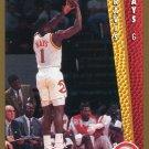 1992 Fleer Basketball Card #303 Travis Mays