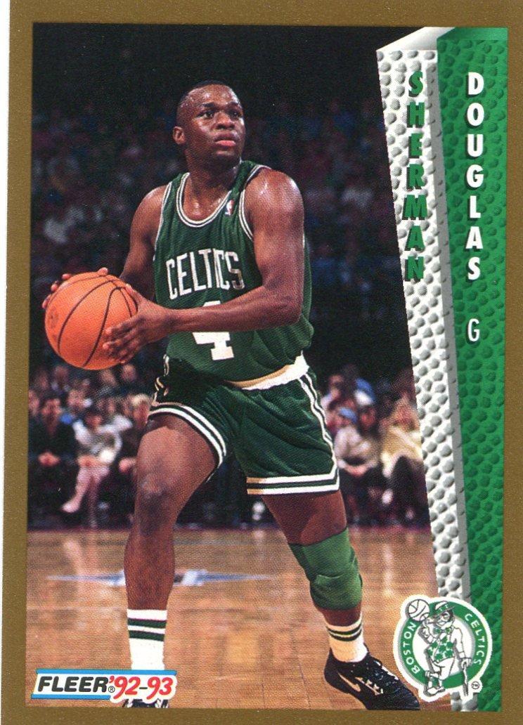 1992 Fleer Basketball Card #305 Sherman Douglas