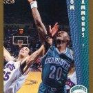 1992 Fleer Basketball Card #309 Tom Hammonds