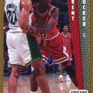 1992 Fleer Basketball Card #315 Trent Tucker