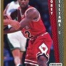 1992 Fleer Basketball Card #316 Corey Williams