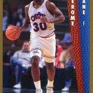 1992 Fleer Basketball Card #319 Jerome Lane