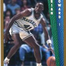 1992 Fleer Basketball Card #323 Brian Howard