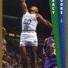 1992 Fleer Basketball Card #324 Tracy Moore