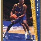 1992 Fleer Basketball Card #327 Kevin Brooks
