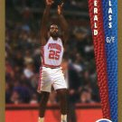 1992 Fleer Basketball Card #333 Gerald Glass