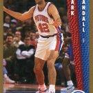 1992 Fleer Basketball Card #336 Mark Randall