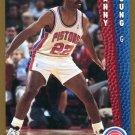1992 Fleer Basketball Card #337 Danny Young