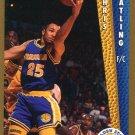 1992 Fleer Basketball Card #338 Chris Gatling