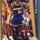 1992 Fleer Basketball Card #340 Bryon Houston