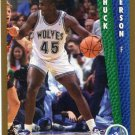 1992 Fleer Basketball Card #381 Chuck Person