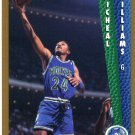 1992 Fleer Basketball Card #384 Michael Williams