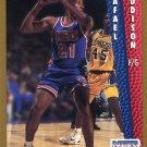 1992 Fleer Basketball Card #385 Rafael Addison