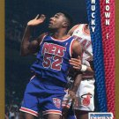 1992 Fleer Basketball Card #386 Chucky Brown