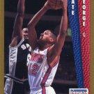 1992 Fleer Basketball Card #388 Tate George