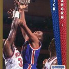 1992 Fleer Basketball Card #389 Rick Mahorn