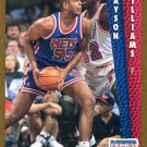 1992 Fleer Basketball Card #391 Jayson Williams