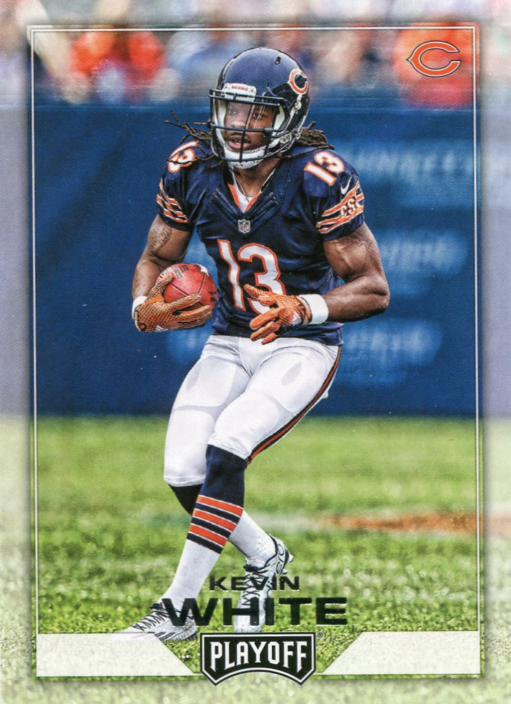 2016 Playoff Football Card #36 Kevin White