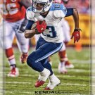 2016 Playoff Football Card #175 Kendall Wright