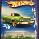 2010 Hot Wheels #136 70 Chevy Chevelle