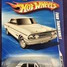 2010 Hot Wheels #166 Ford Thunderbolt WHITE