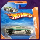 2010 Hot Wheels Short Card #72 Hollowback