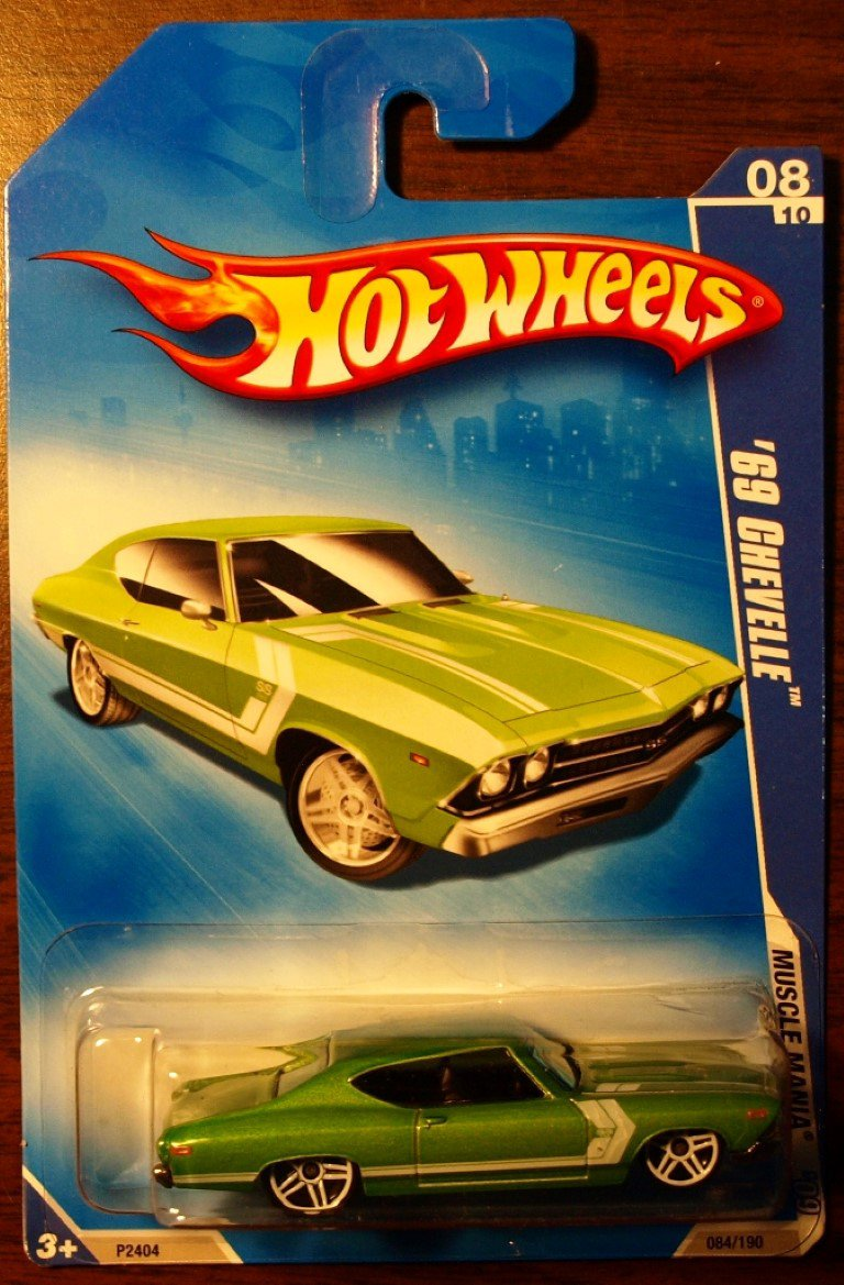 2009 Hot Wheels #84 69 Chevelle