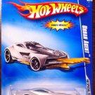 2009 Hot Wheels #94 Urban Agent WHITE