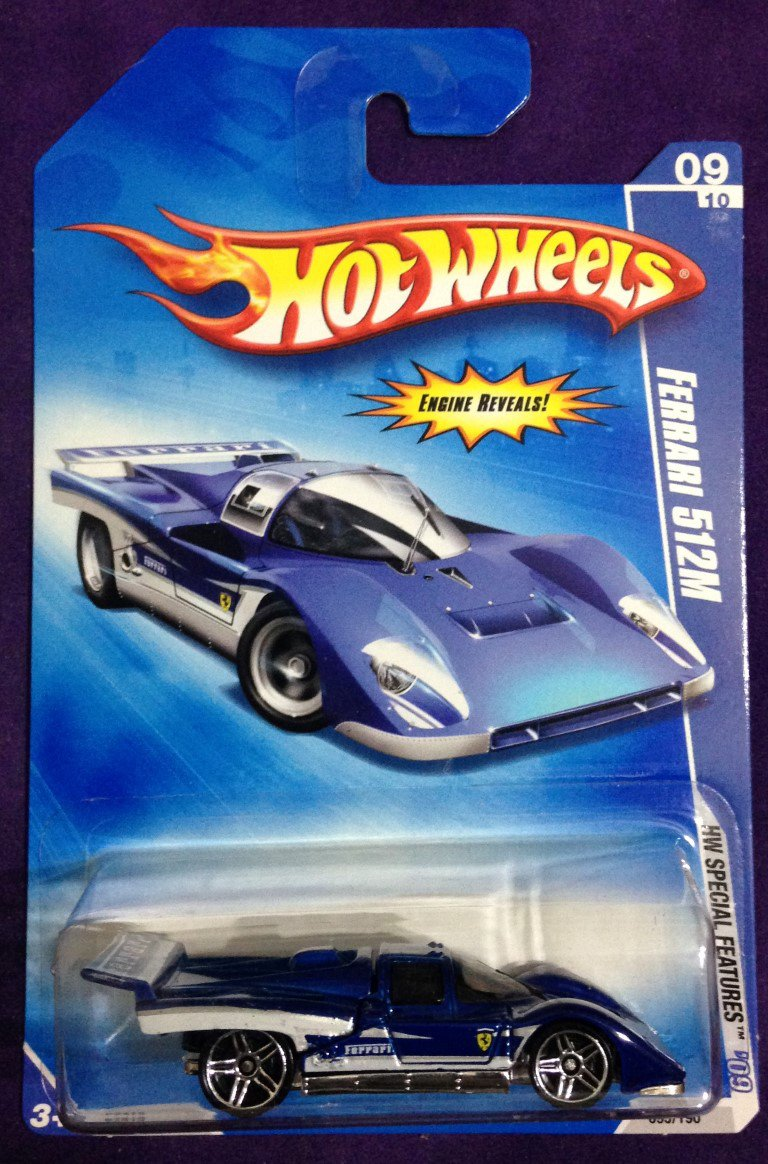 2009 Hot Wheels #95 Ferari 512M
