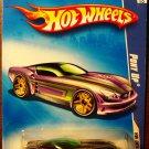 2009 Hot Wheels #104 Pony Up PURPLE