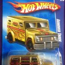 2009 Hot Wheels #110 Armored Truck