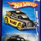2009 Hot Wheels #112 Cockney Cab II BLACK