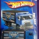 2009 Hot Wheels #114 Hiway Hauler BLUE