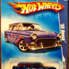 2009 Hot Wheels #125 55 Nomad
