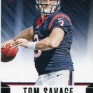 2014 Rookies & Stars Football Card #193 Tom Savage